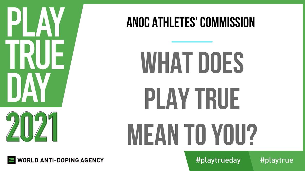 ANOC Athletes' Commission members post video supporting WADA Play True Day