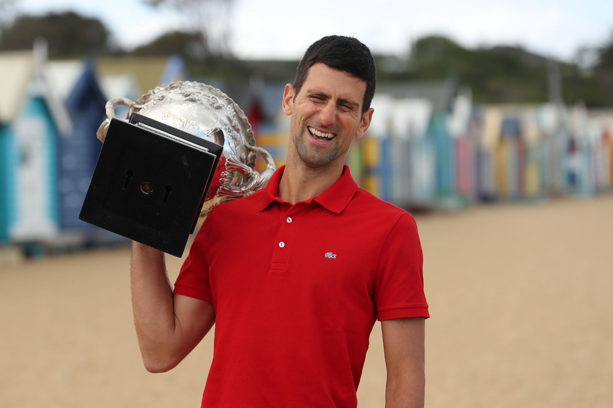 Novak Djokovic will compete for the first time since winning the Australian Open ©Getty Images