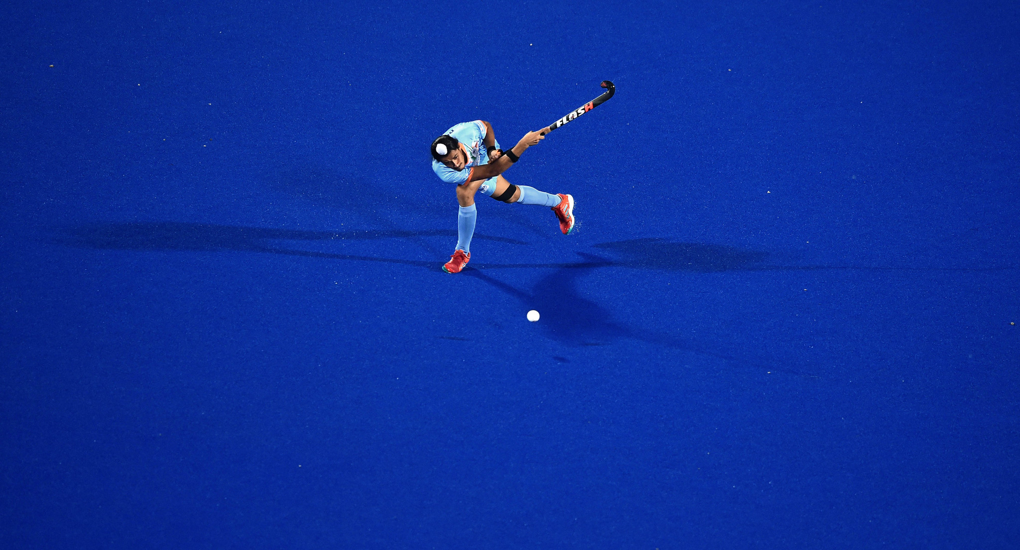 Dilpreet Singh scored the winning penalty shuffe ©Getty Images