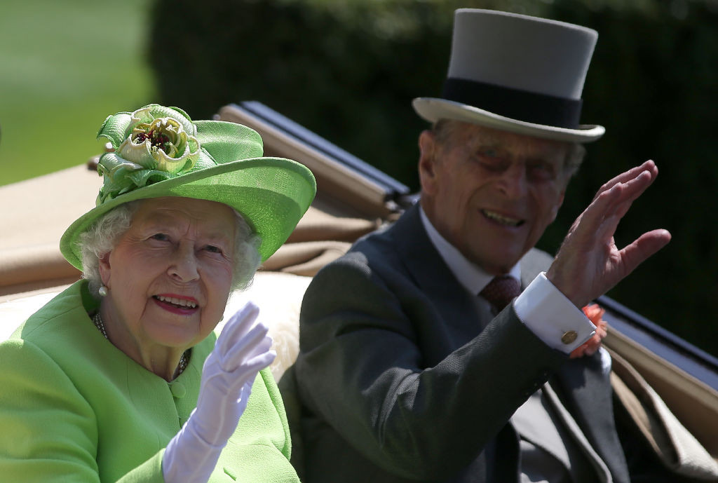 Prince Philip and the Queen were married for more than 70 years and regularly visited sports events, including horse racing ©Getty Images
