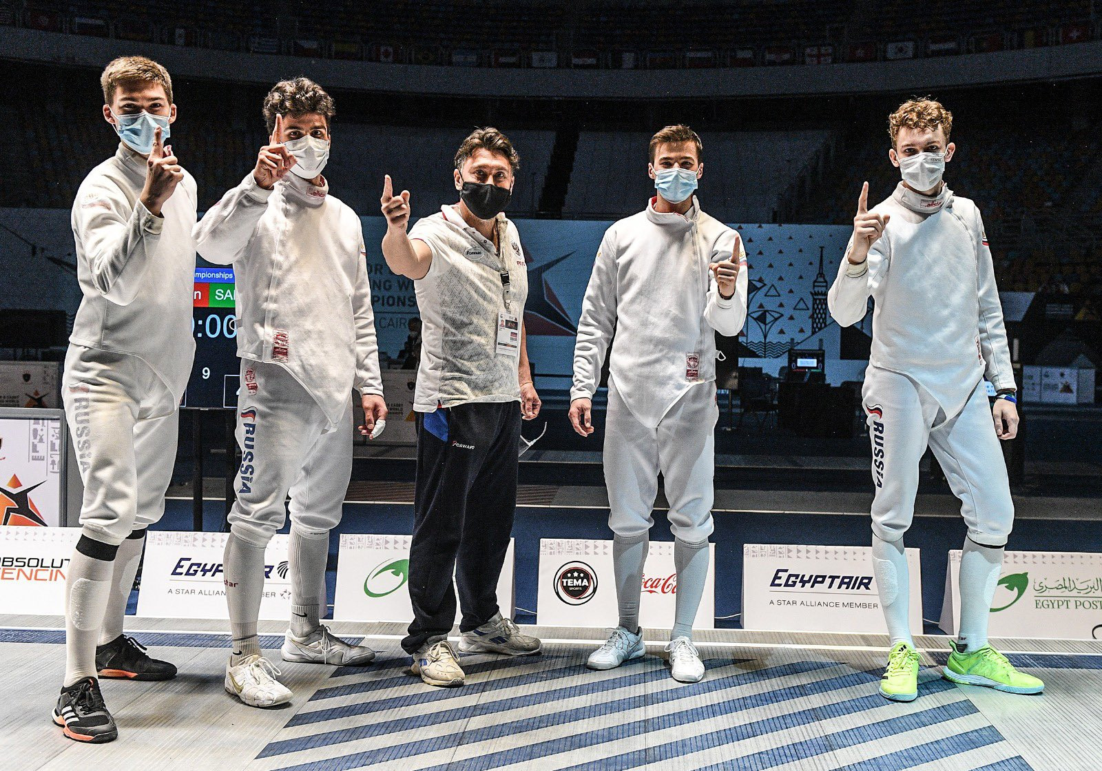 Russia win team épée titles on final day of Junior World Fencing Championships