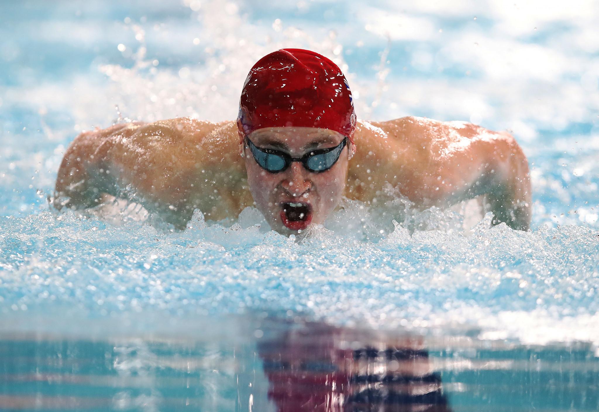 World record for Clegg caps Sheffield World Para Swimming World Series leg