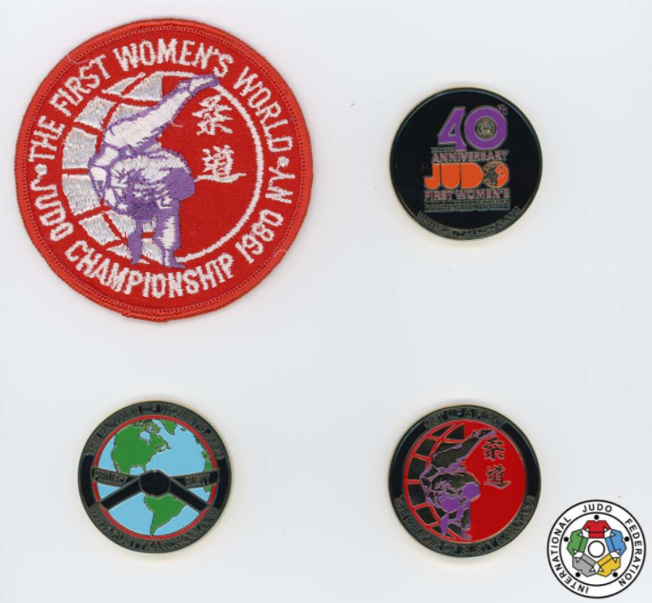 The first Women's World Judo Championships took place in New York in 1980 ©IJF
