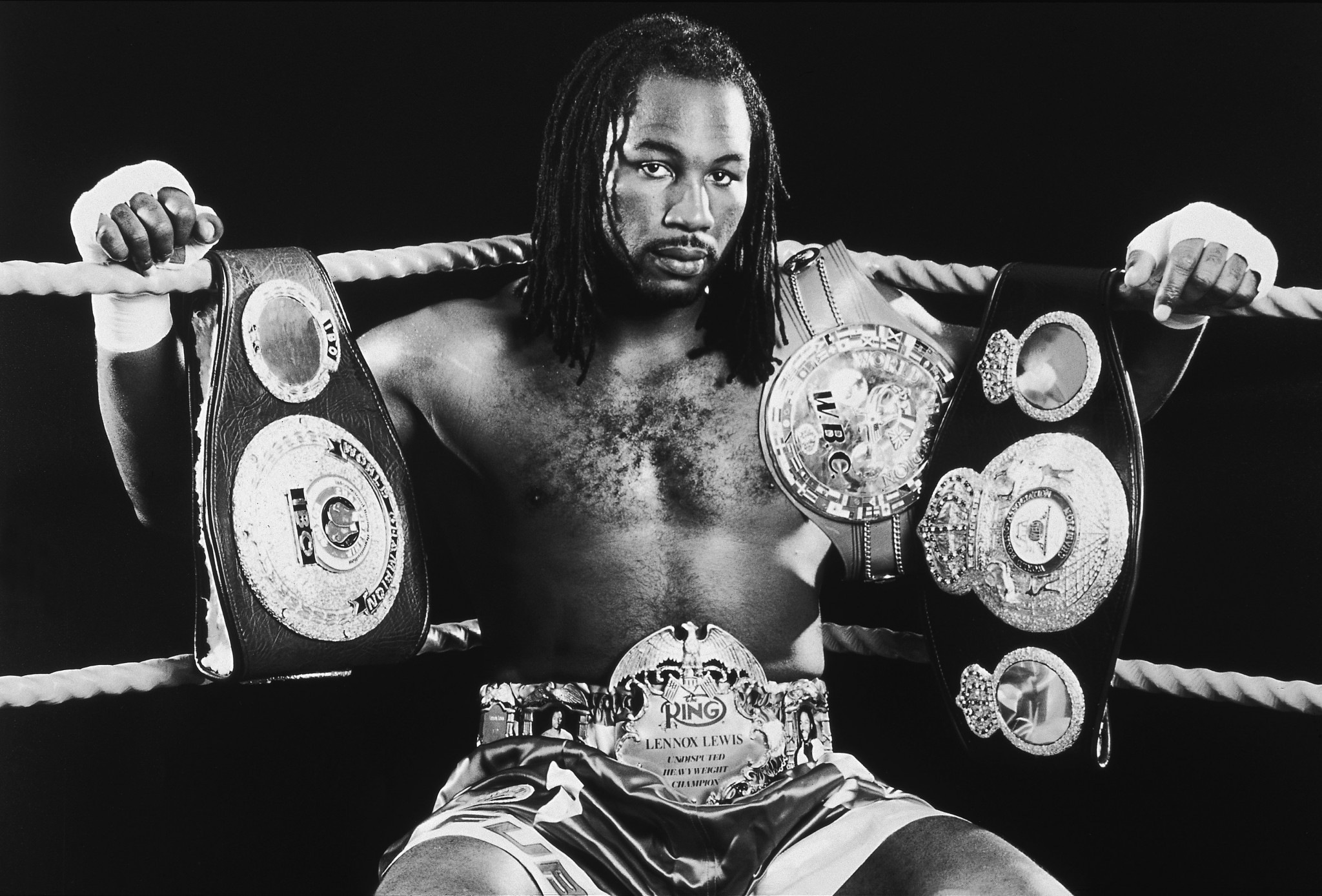 Lennox Lewis went on to unprecedented success as a professional after boxing at the Commonwealth Games ©Getty Images