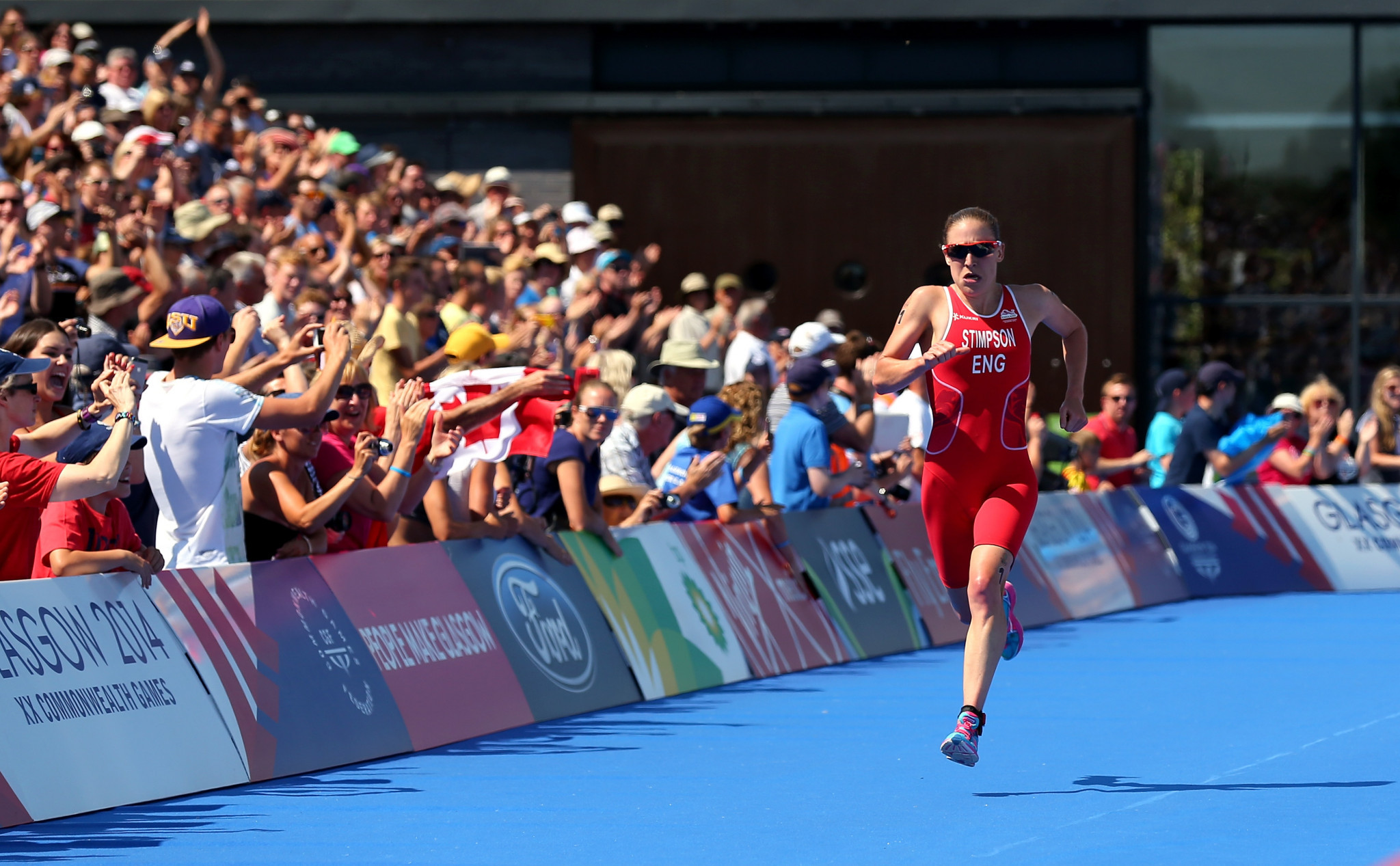 Local triathlete Stimpson relishes prospect of packed crowds at Birmingham 2022
