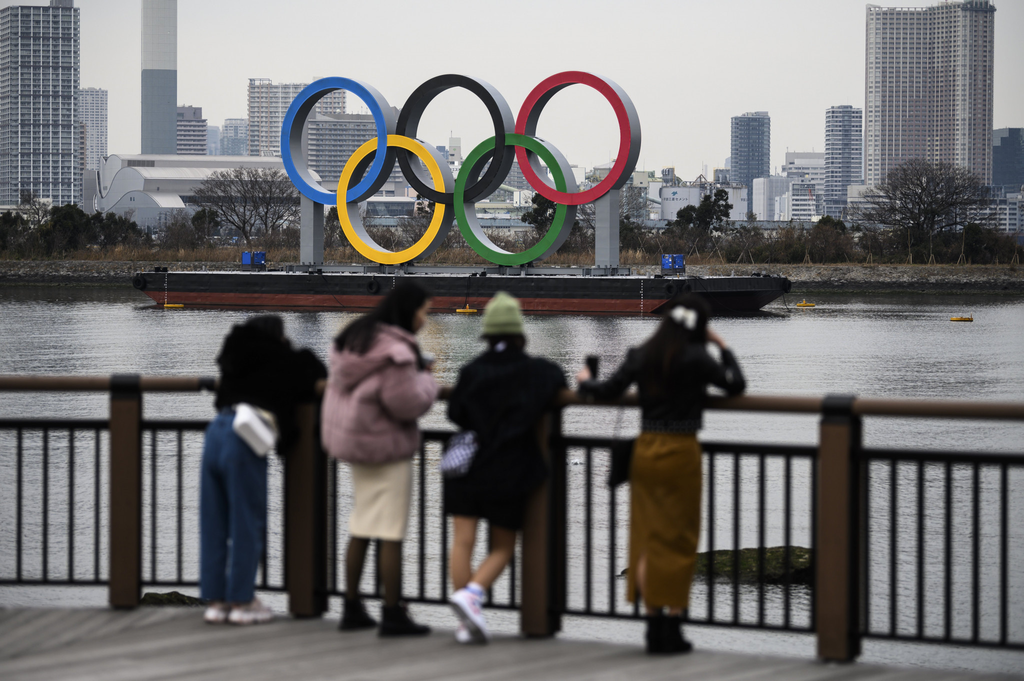 The Tokyo 2020 Olympics are due to start in just over 100 days but organisers are struggling to win over the Japanese public ©Getty Images