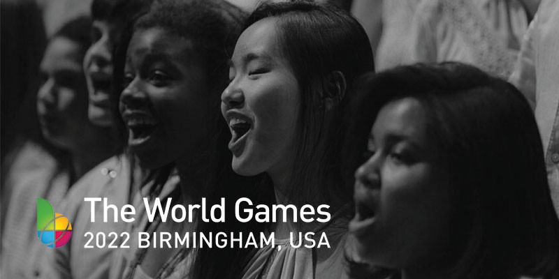 A special youth choir is being formed for the 2022 World Games in Birmingham ©Birmingham 2022