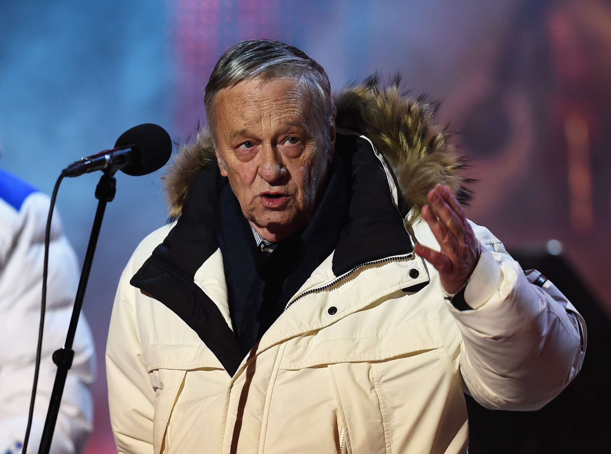 Gian-Franco Kasper is set to step down after 23 years in charge of the International Ski Federation ©Getty Images