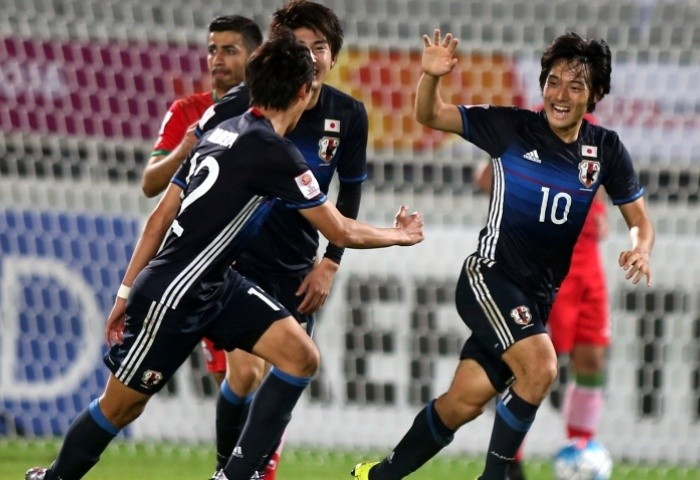 Japan scored three in extra-time to beat a resolute Iran ©AFC