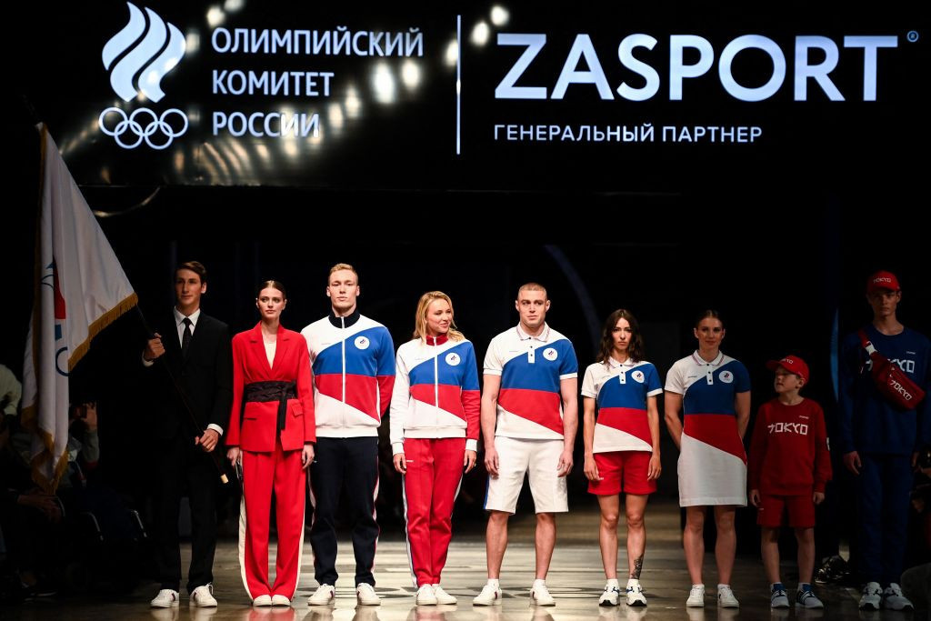 The uniforms the ROC team are set to wear at Tokyo 2020 have been unveiled ©Getty Images