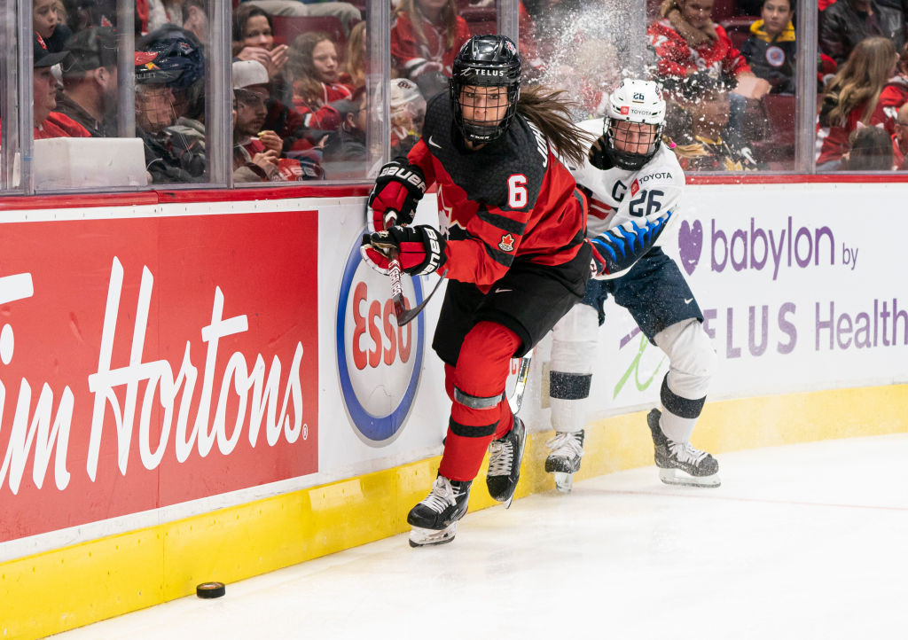 Canada are preparing for their home IIHF Women's World Championship ©Getty Images