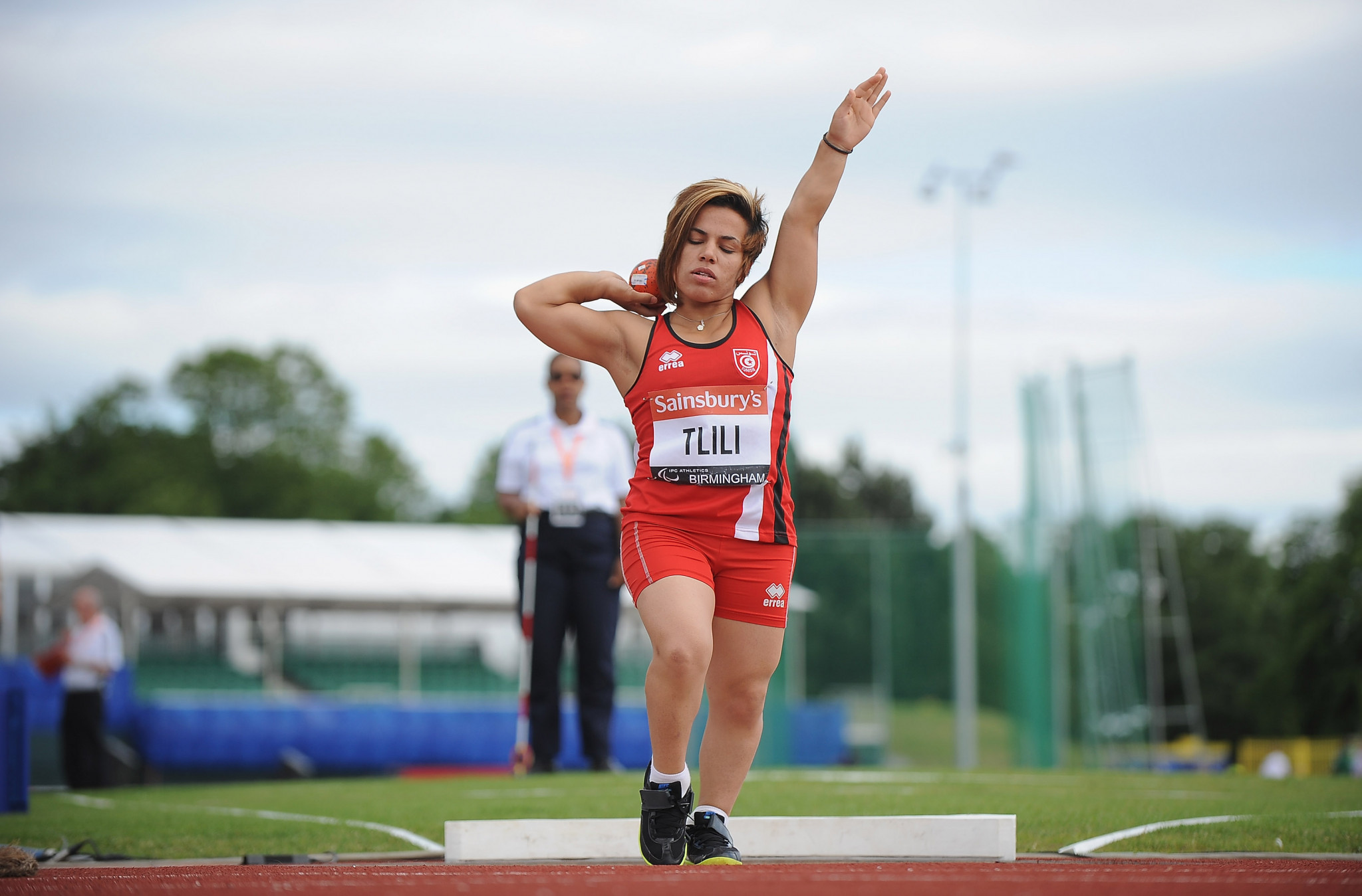 Raoua Tlili is one of three Tunisian throwers set to participate in the women's shot put F41 at the World Para Athletics Grand Prix in Jesolo ©Getty Images