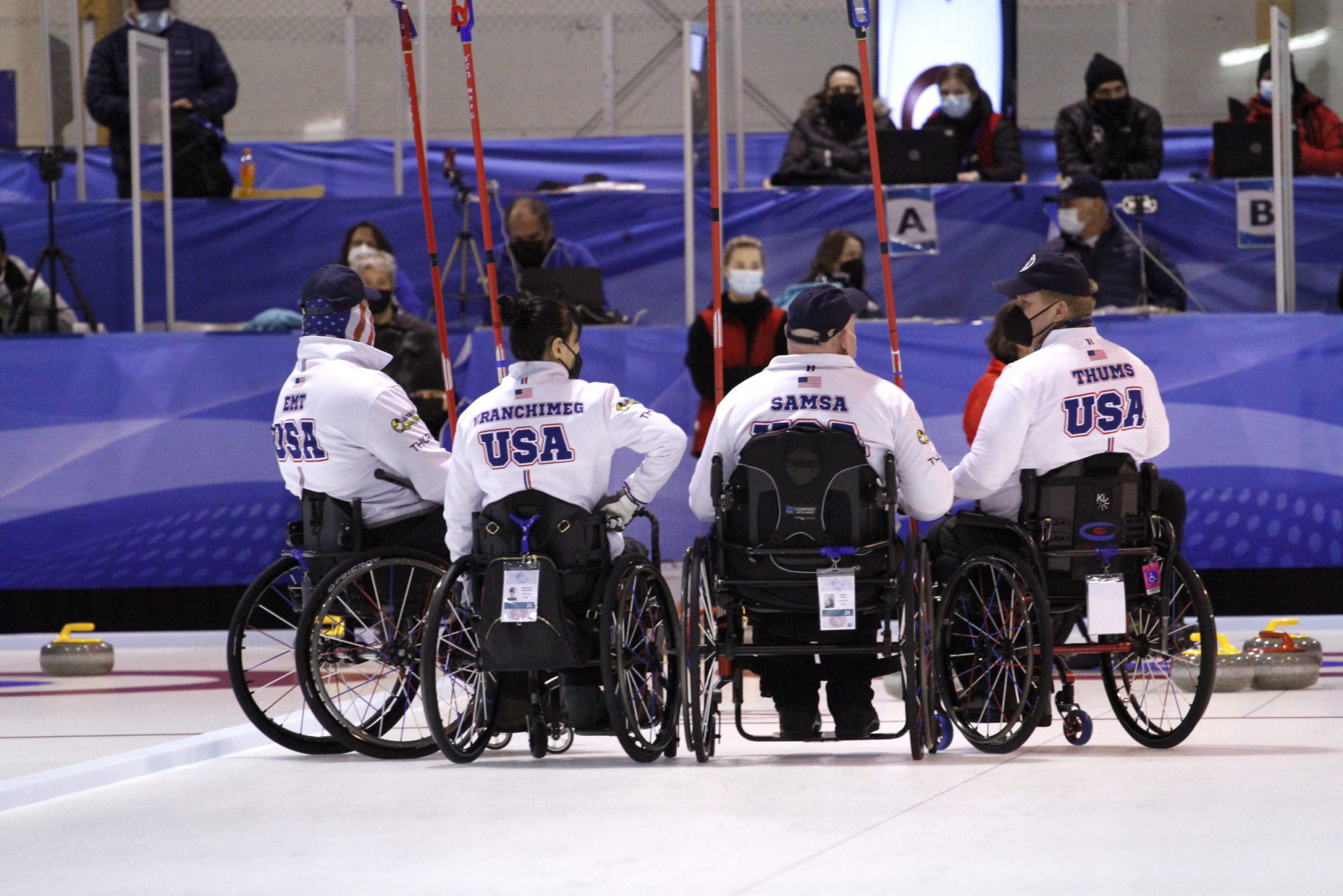 The United States won gold at the World Wheelchair-B Championship in Finland ©WCF/Jiri Snitil