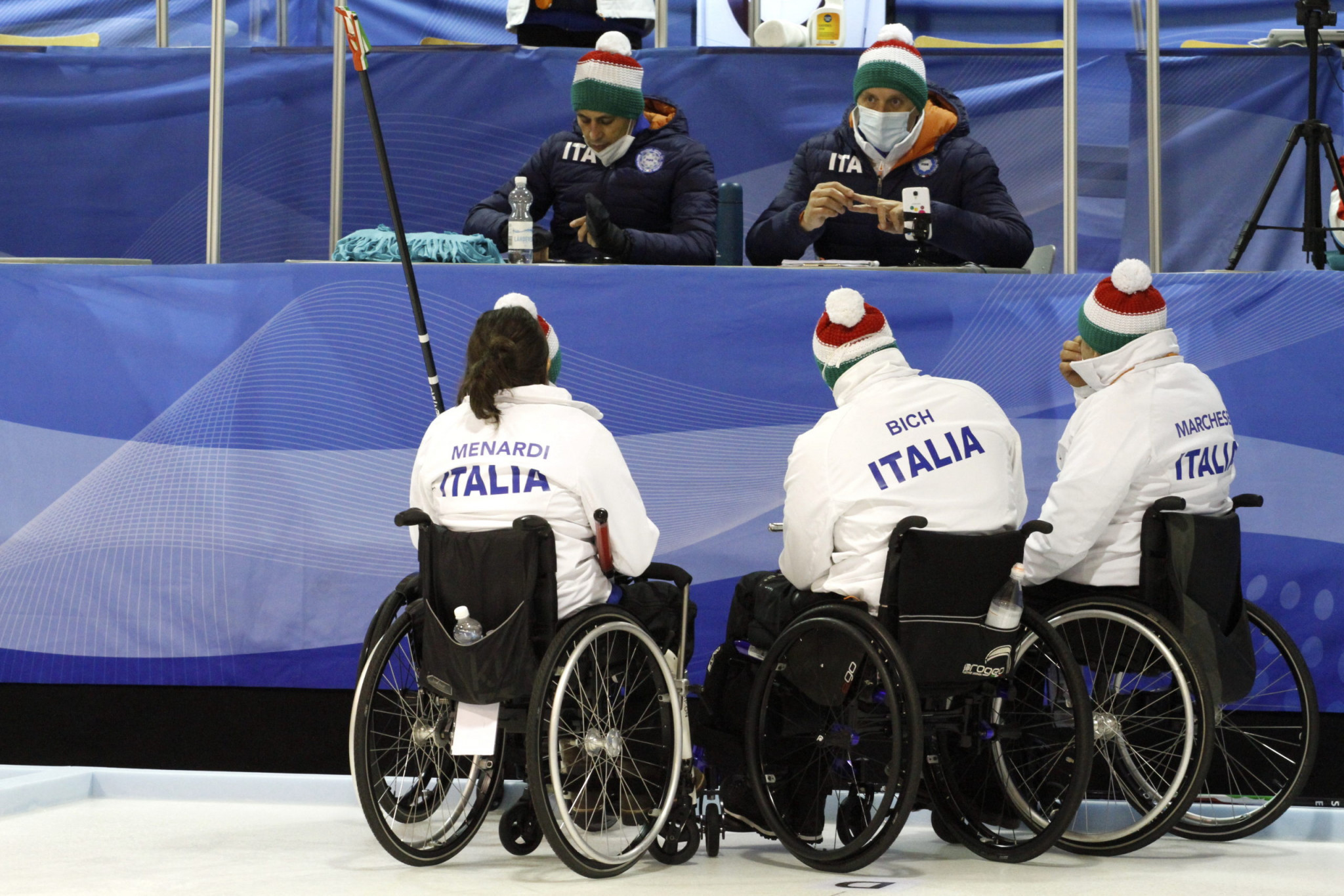 Italy's bronze medal ensured their spot at the 2021 World Wheelchair Curling Championship ©WCF/Jiri Snitil