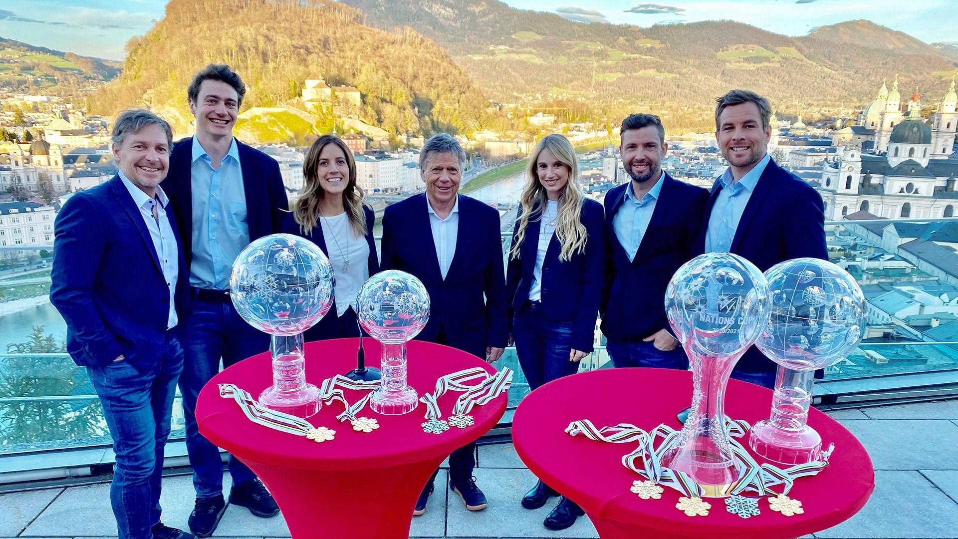 Austrian winter athletes honoured for 2020-2021 achievements