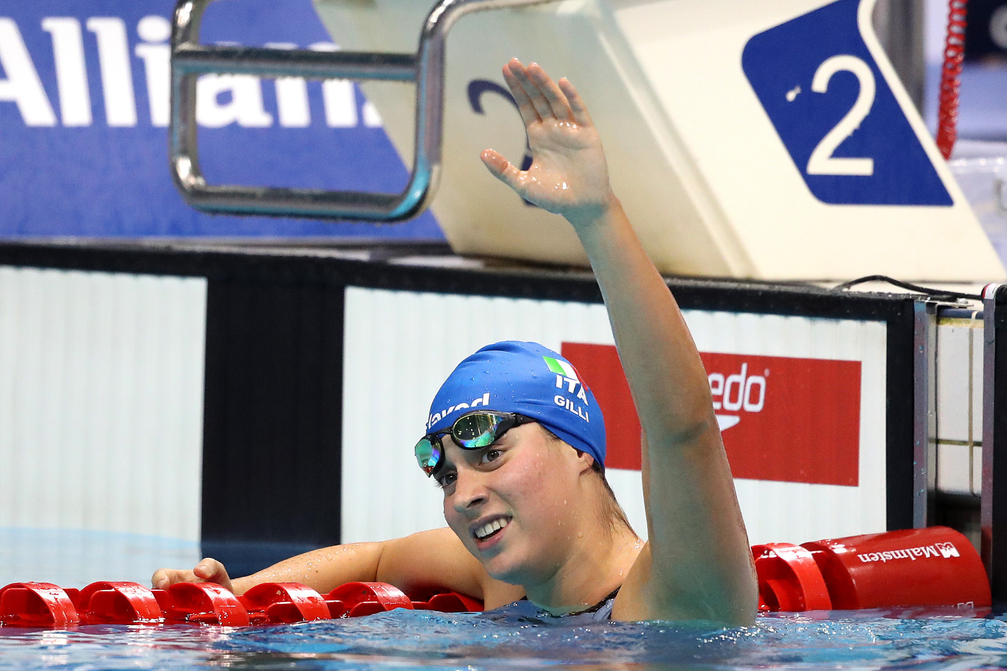World champion Carlotta Gilli is among a strong Italian contingent scheduled to participate on home water at the World Para Swimming World Series leg in Lignano  ©Getty Images