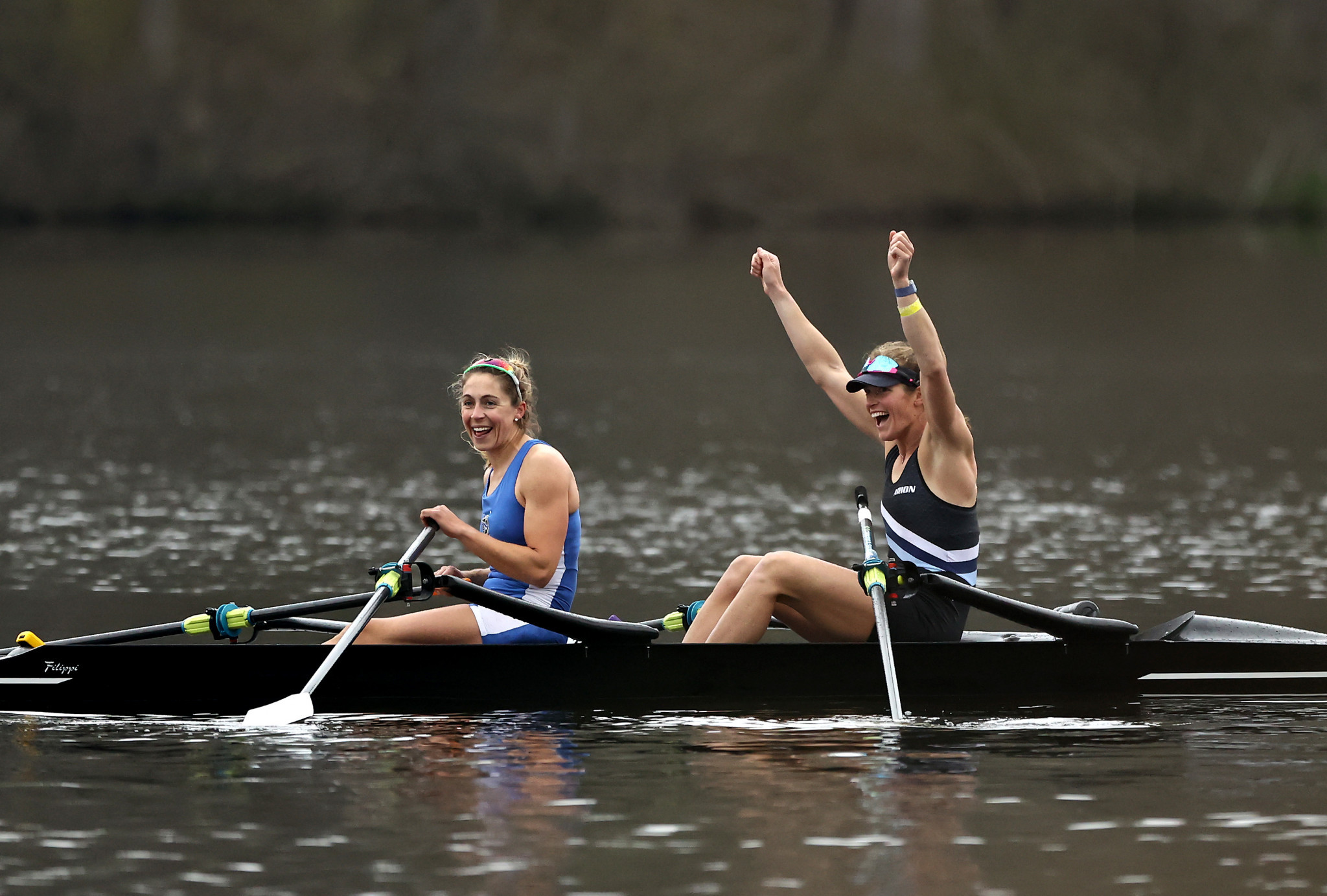 Gevvie Stone and Kristina Wagner have qualified to represent the United States in the women's double skulls at Tokyo 2020 ©Getty Images