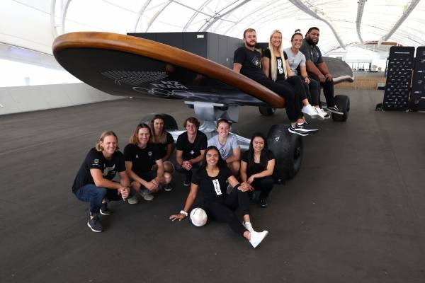 """Giant skateboard set for New Zealand tour to get people """"on board"""" for Tokyo 2020"""