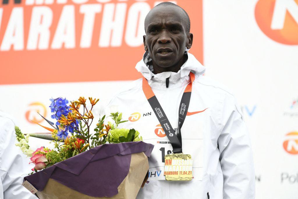 Kipchoge back to winning ways at NN Mission Marathon ahead of Olympic title defence