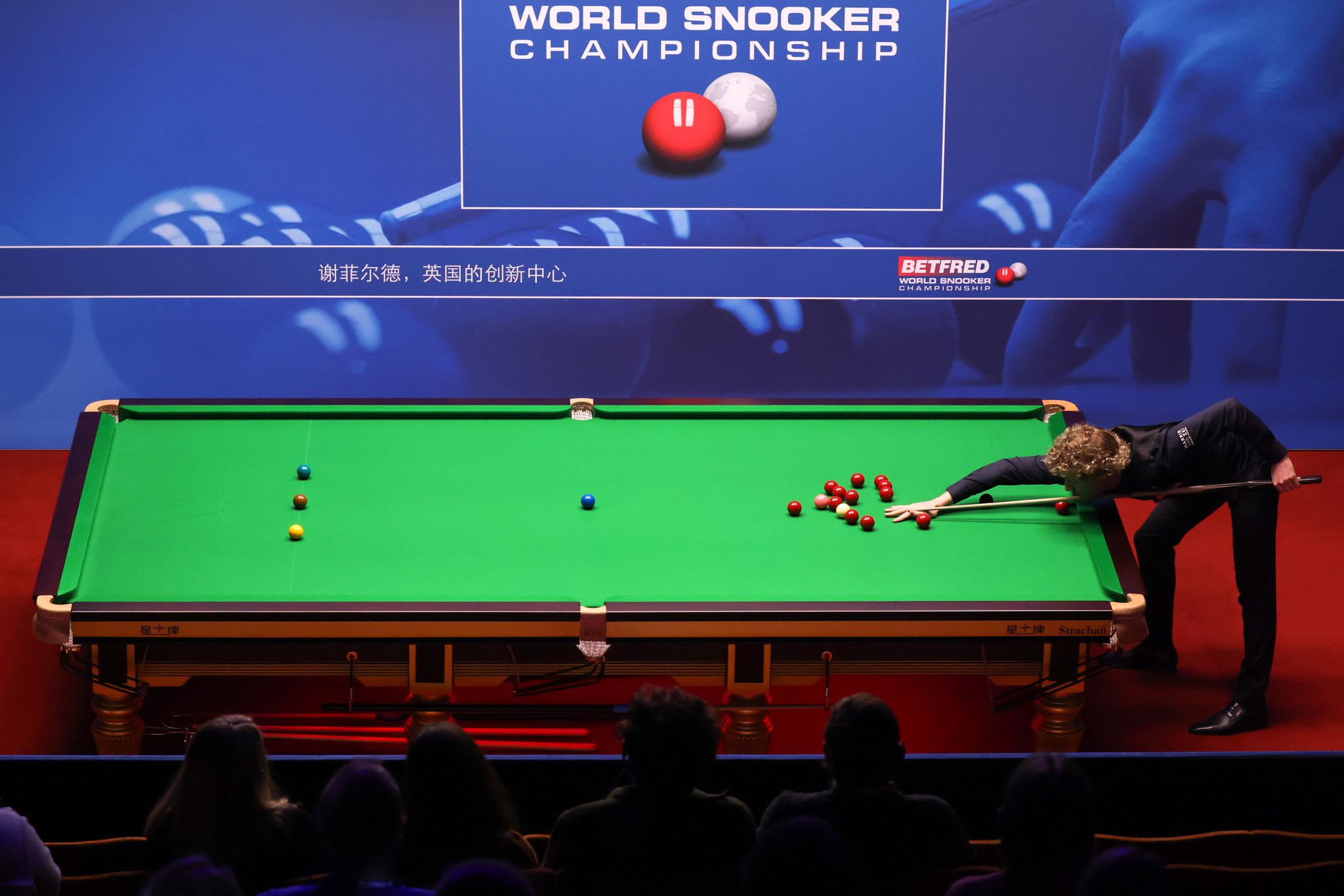 Robertson eases through as Maguire crashes out on day two of World Snooker Championship