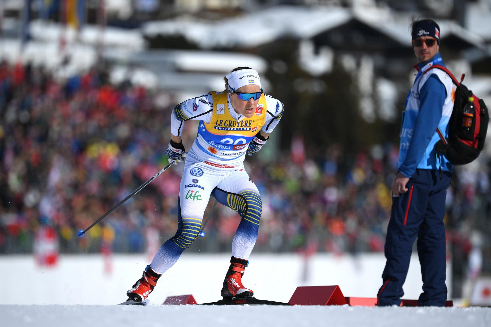 Swedish cross-country skier Falk announces retirement
