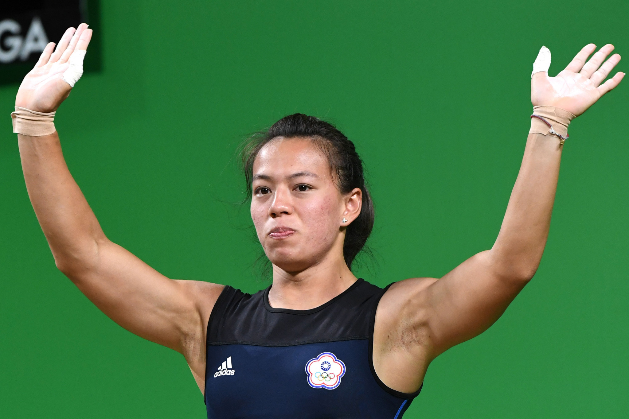 Kuo Hsing-Chun broke two world records at the Asian Weightlifting Championships ©Getty Images