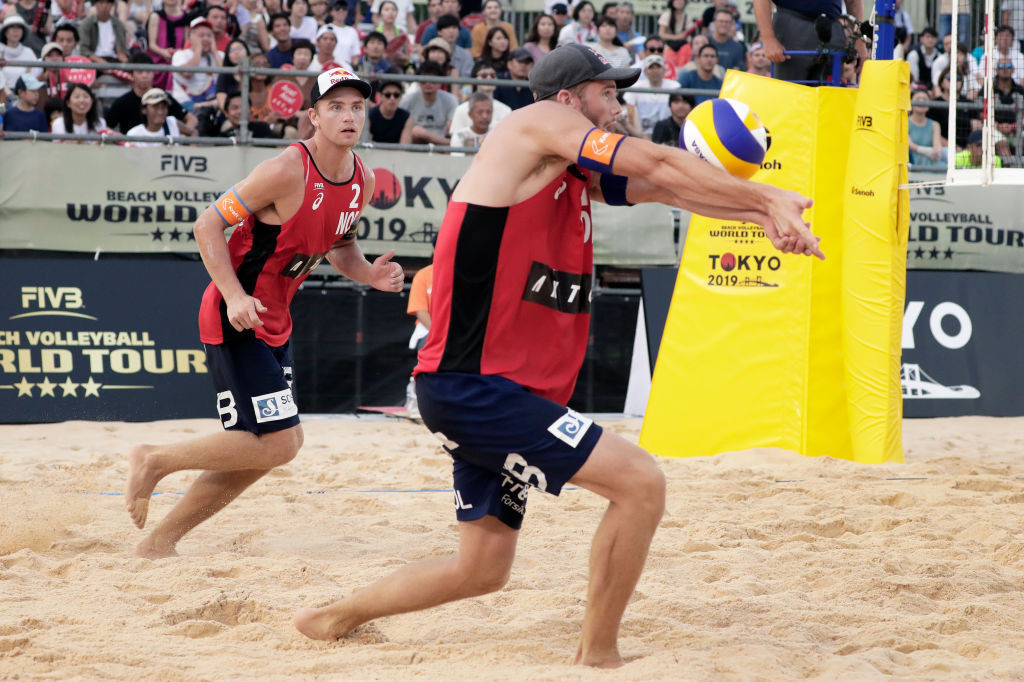 Mol and Sørum through to men's final on FIVB World Tour return in Cancun