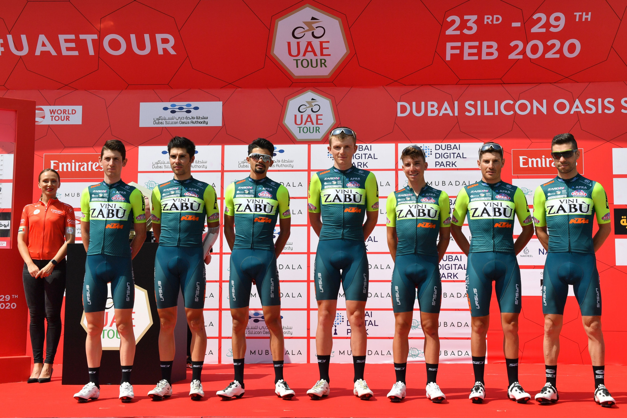 Italian cycling team Vini Zabù given 30-day suspension for two doping cases