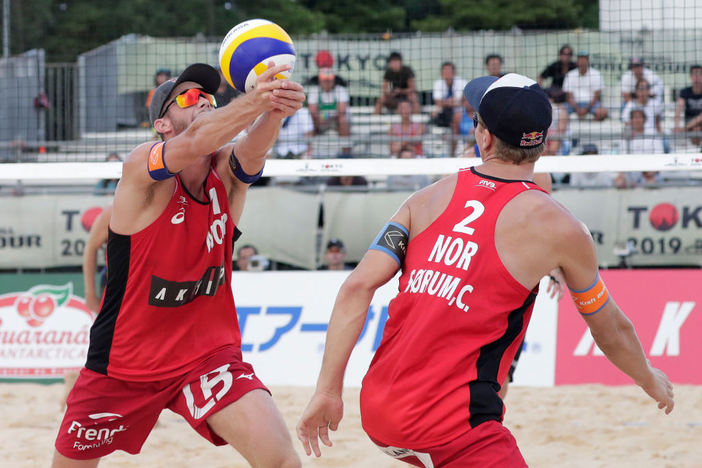 Mol and Sørum mark FIVB Beach World Tour return with gold in Cancun