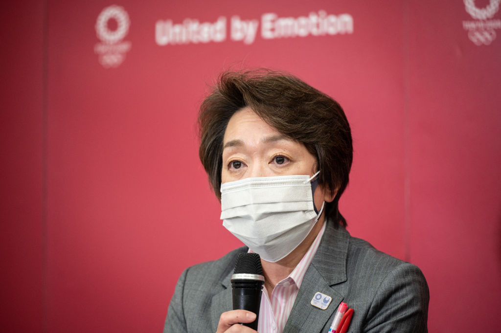Tokyo 2020 President Seiko Hashimoto has previously said fans should be able to attend the Games ©Getty Images