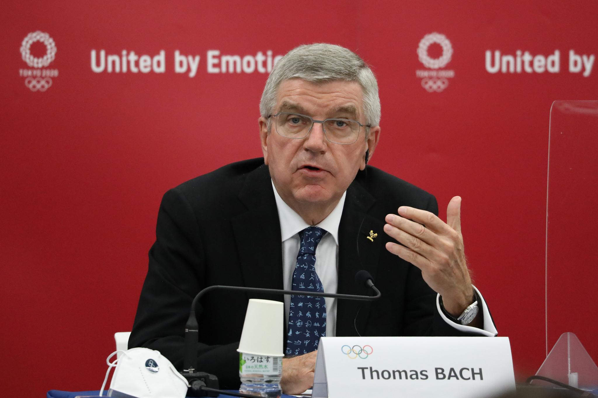 IOC President Thomas Bach said the organisation would keep