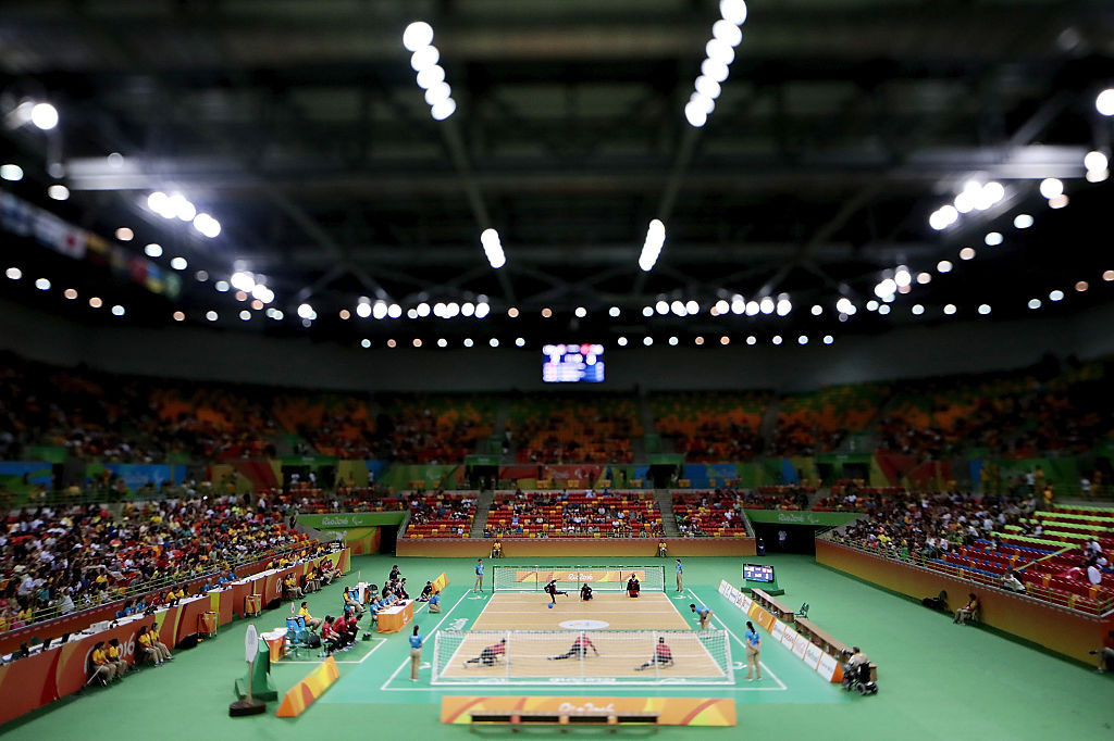 The goalball draw for Tokyo 2020 has been delayed ©Getty Images