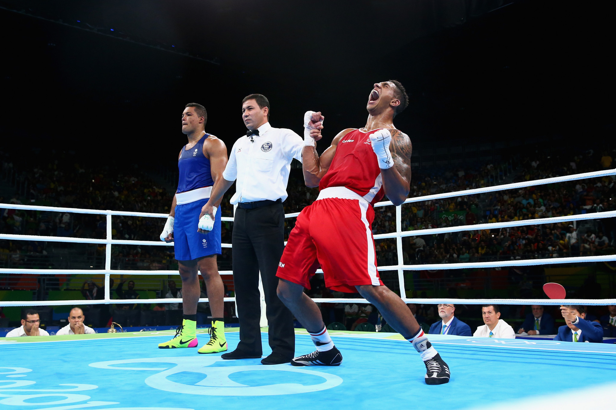Several fights at the Rio 2016 Olympic Games proved controversial with questions raised over decisions made by judges ©Getty Images
