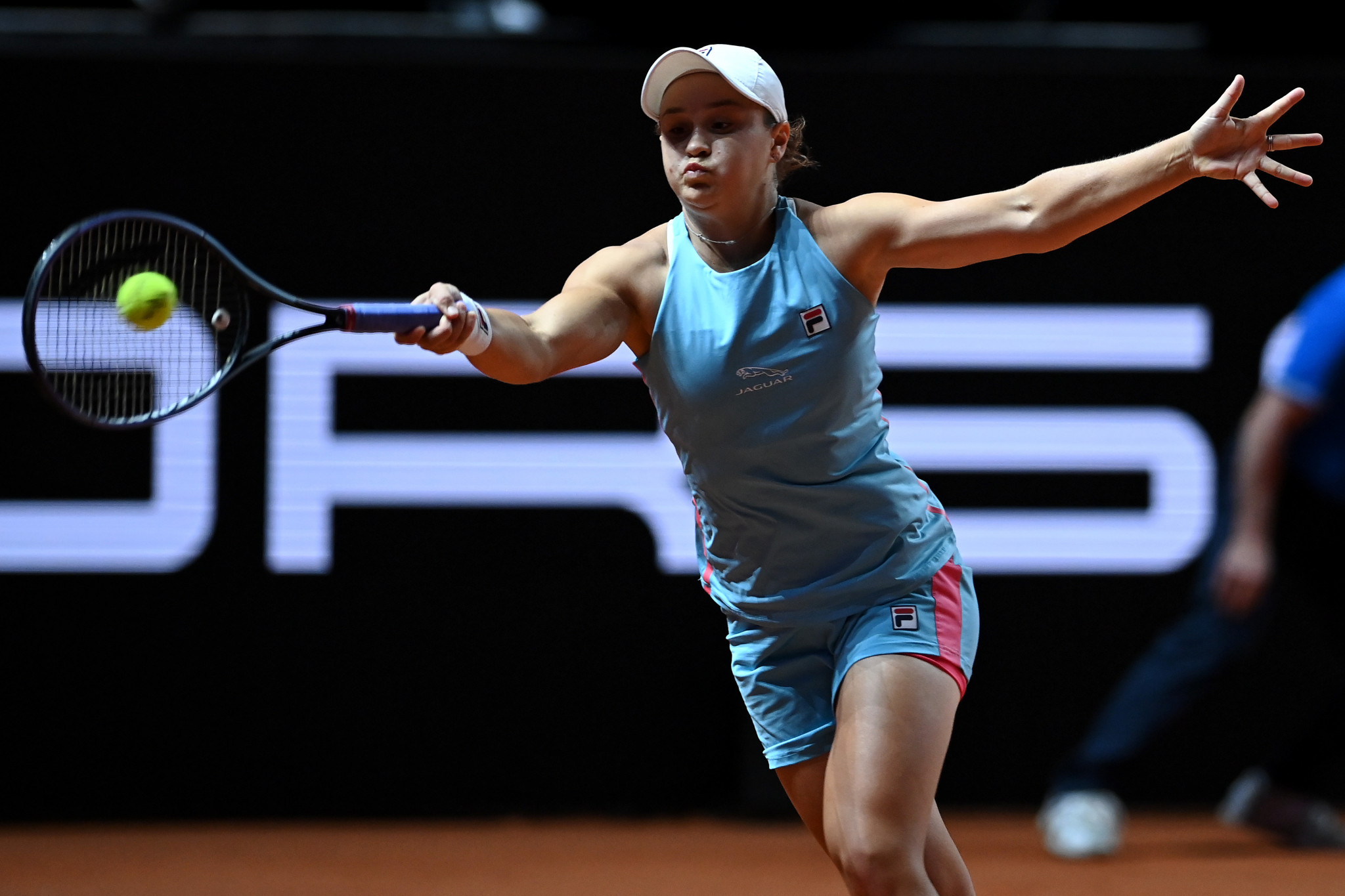 Ashleigh Barty said she was one of several players to receive a COVID-19 jab at the Charleston Open ©Getty Images