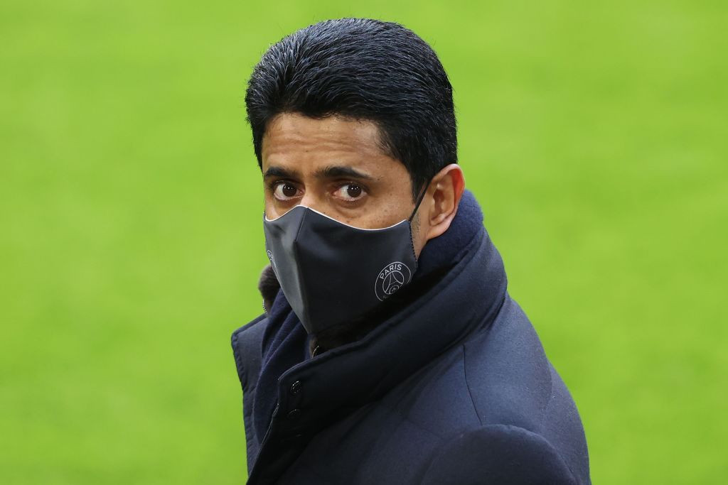 Nasser Al-Khelaifi is the new chairman of the ECA ©Getty Images