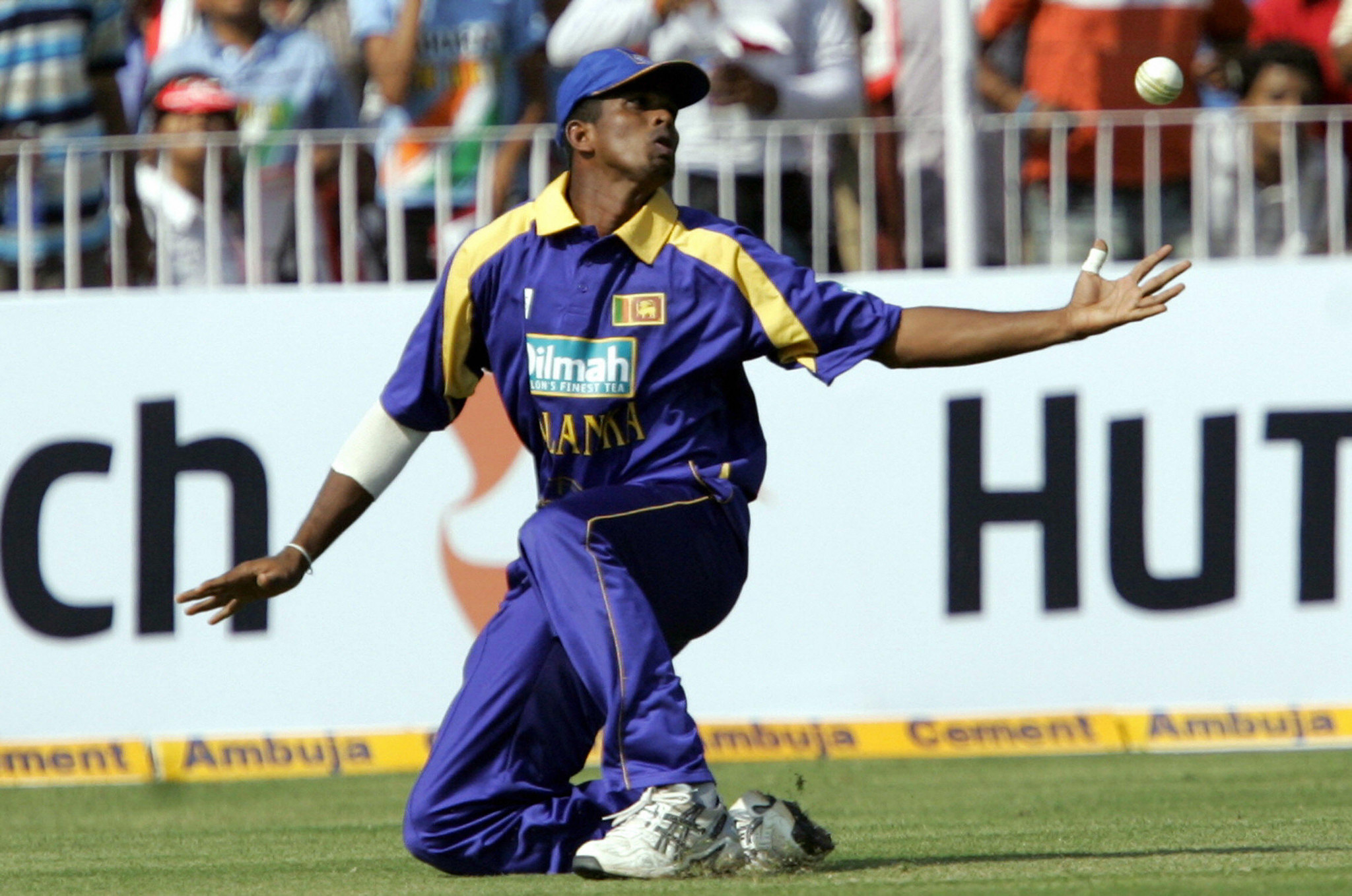Dilhara Lokuhettige made 11 appearances for Sri Lanka in white-ball cricket ©Getty Images