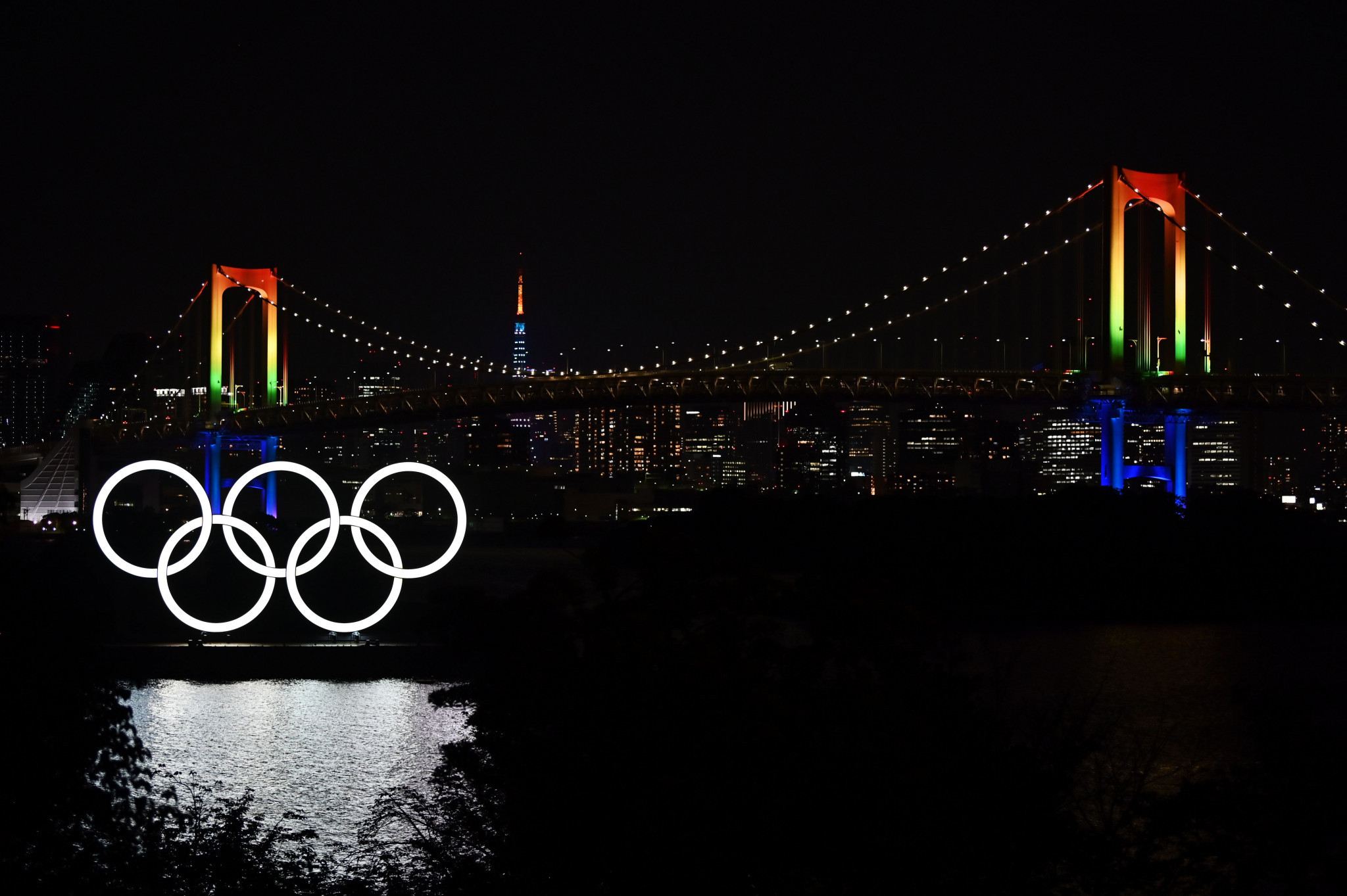 The Rainbow Bridge will be the backdrop of NBC Olympics' primetime coverage ©Getty Images