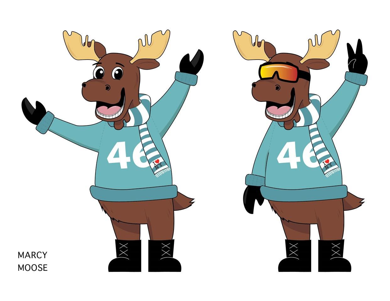 Elisa Medina submitted the Marcy Moose design ©I Love NY