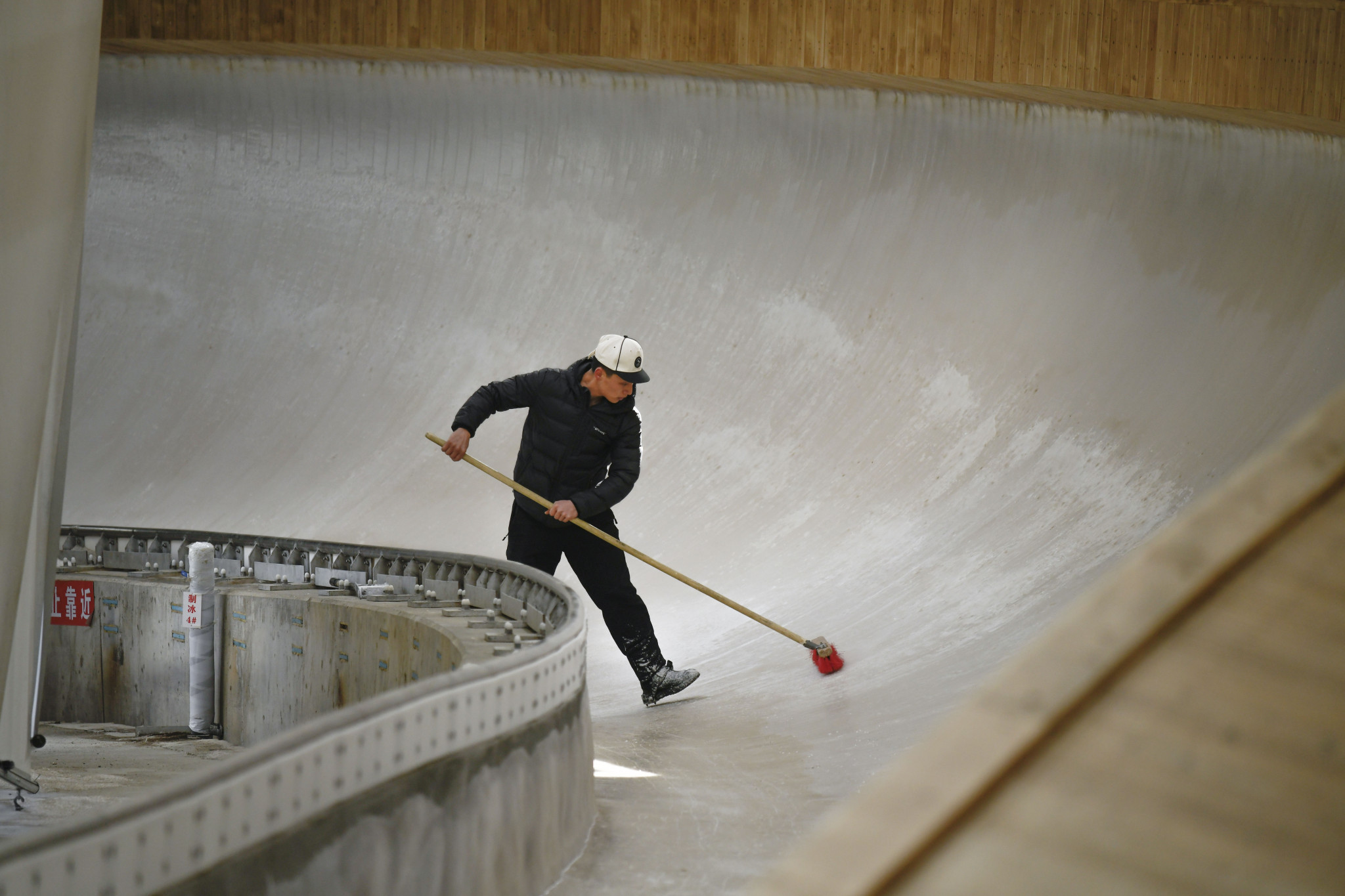 Yanqing National Sliding Center will be the luge venue for the 2022 Winter Olympics ©Getty Images