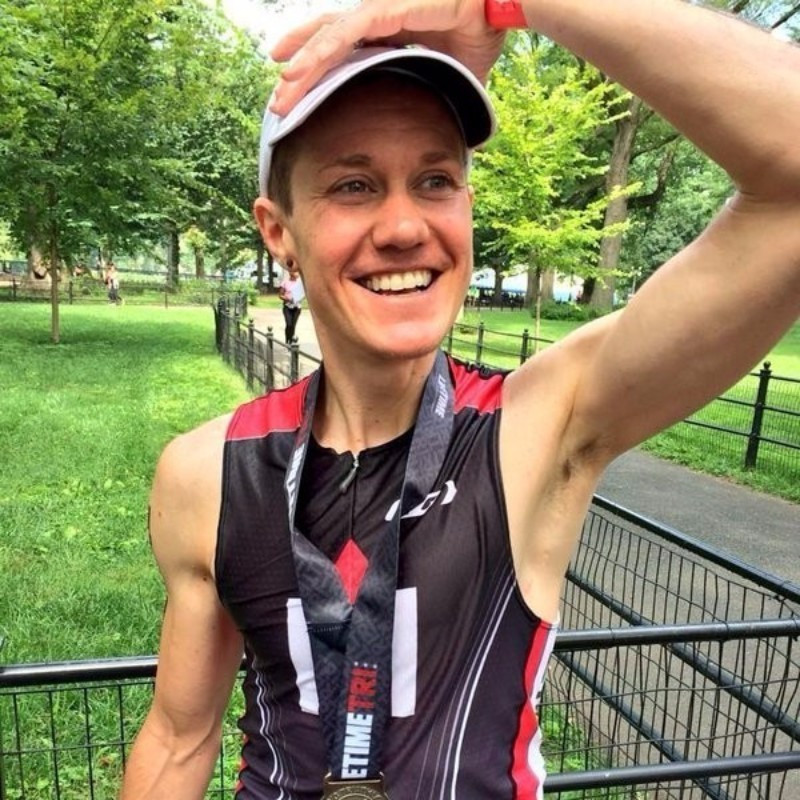 American triathlete Chris Mosier is a trans-athlete who could potentially benefit from the new proposals ©Twitter