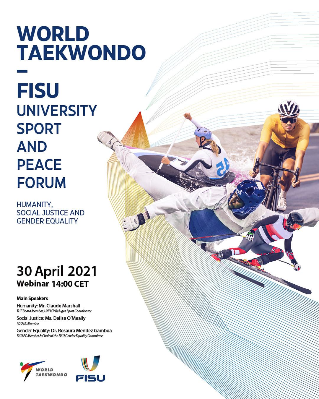 World Taekwondo and FISU to stage University Sport and Peace Forum