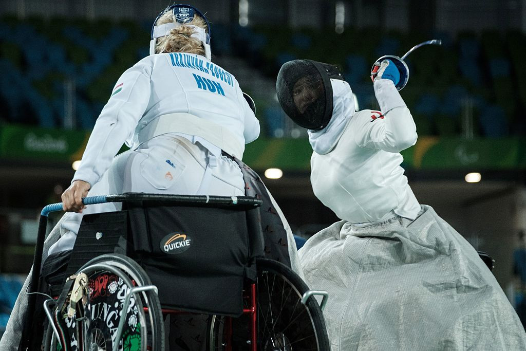 The events had been due to form part of the wheelchair fencing qualification process for the Tokyo 2020 Paralympic Games ©Getty Images