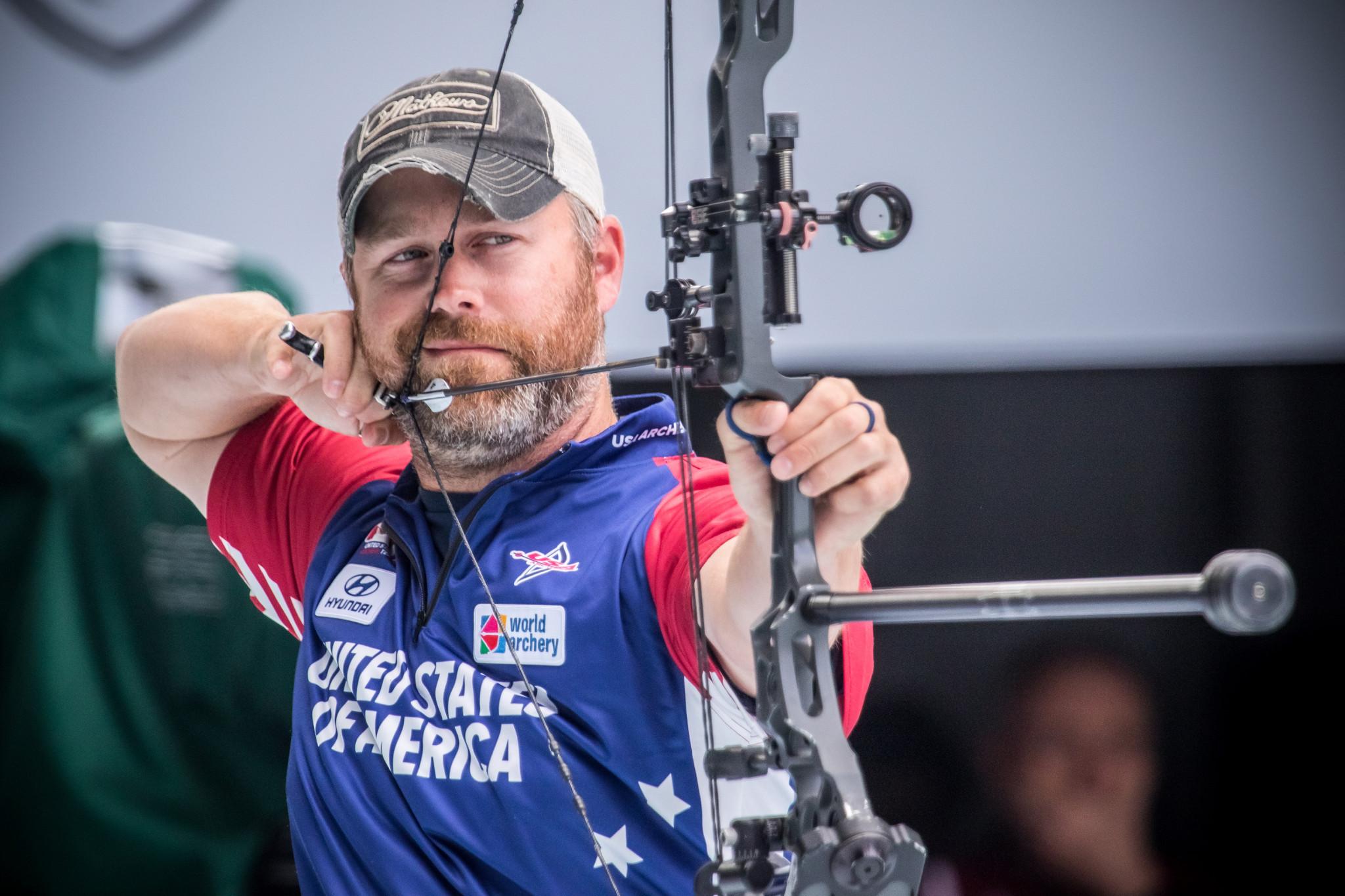 Braden Gellenthien won the men's compound gold medal in Guatemala ©Getty Images