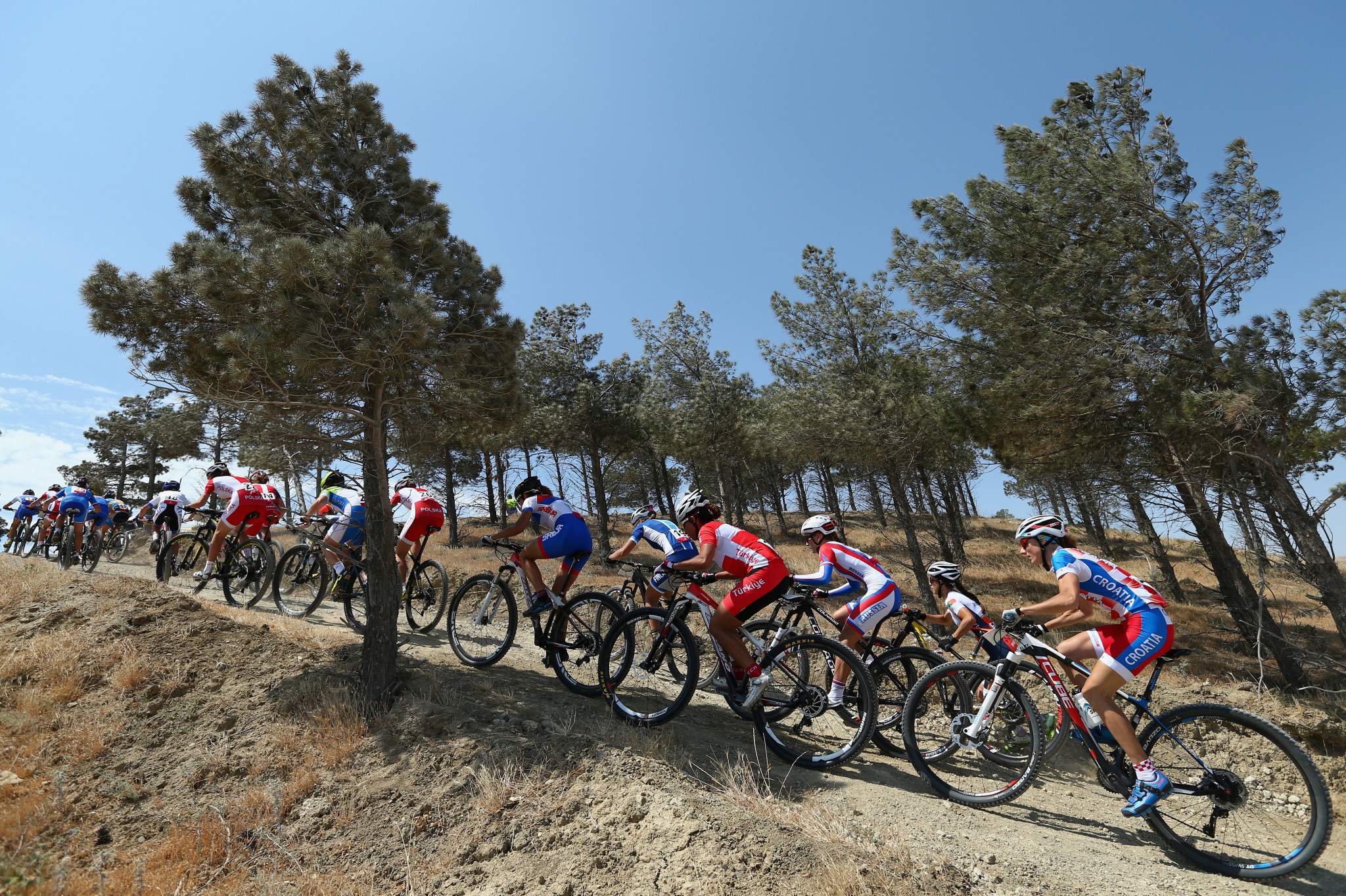 Mountain biking last featured at the European Games in 2015 ©Getty Images