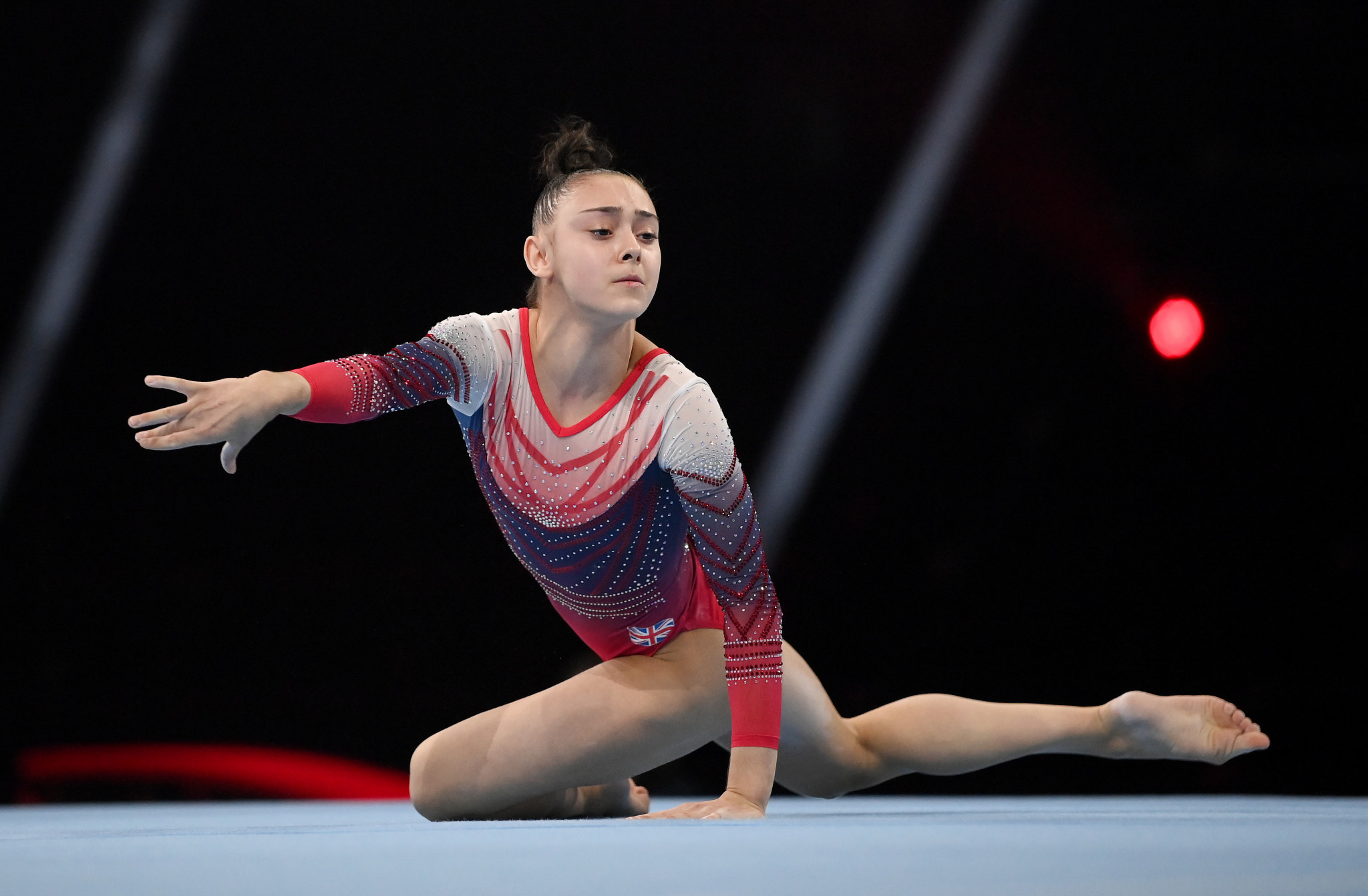Gadirova claims floor gold on senior European Artistic Gymnastics Championships debut
