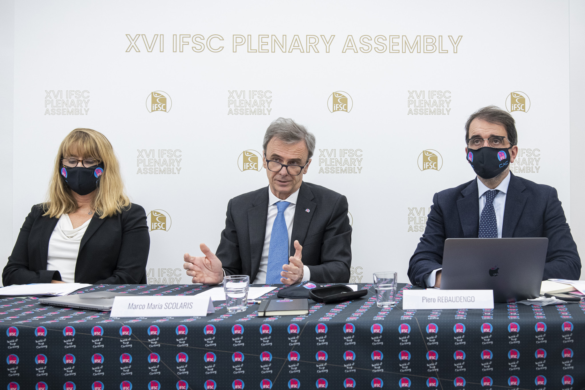 IFSC President Marco Scolaris hopes the sport will be included on the programme for the Los Angeles 2028 Olympics and Paralympics ©IFSC