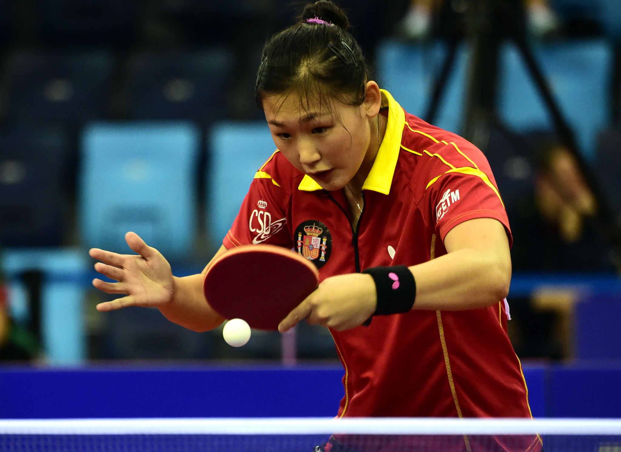 Maria Xiao defeated Barbora Balazova to secure her place at Tokyo 2020 ©Getty Images