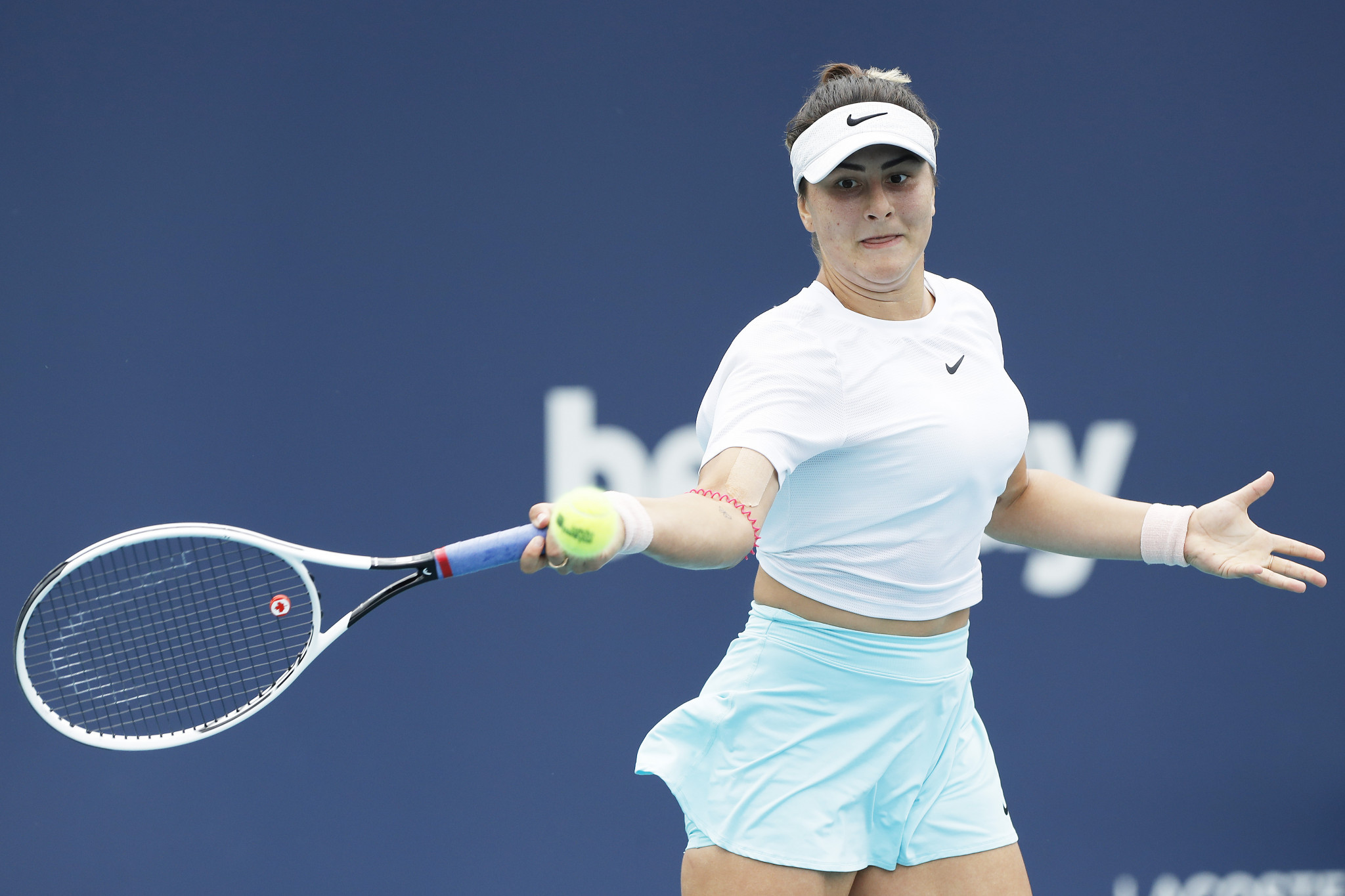 Canada's Bianca Andreescu has tested positive for COVID-19 ©Getty Images