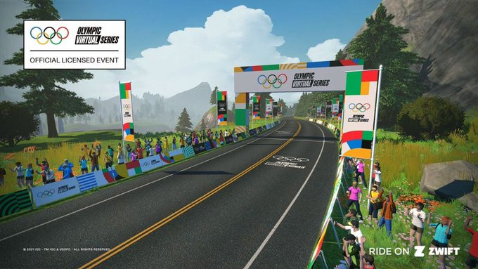 Cycling will be one of the sports as part of the Olympic Virtual Series ©UCI