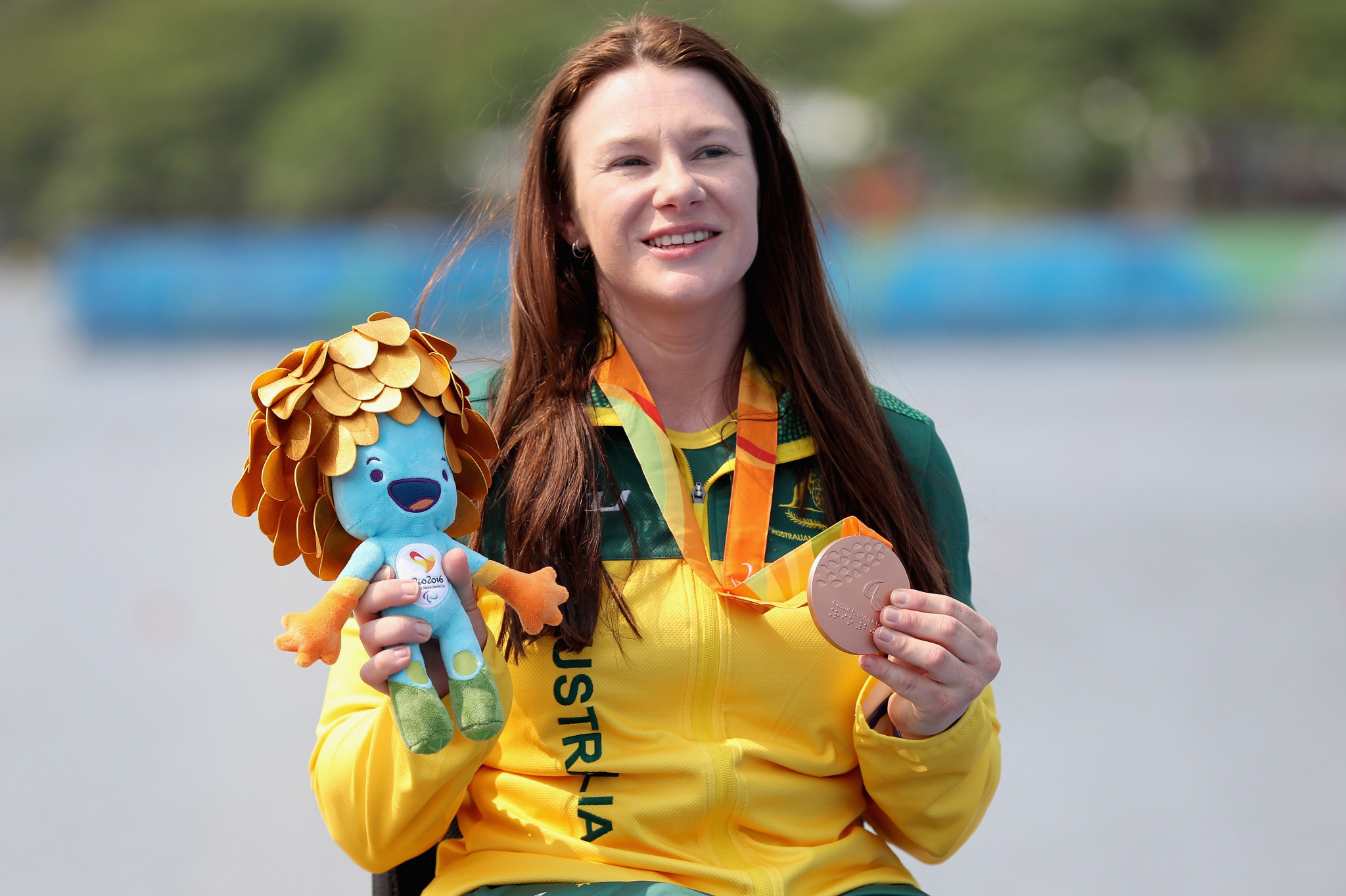 Susan Seipel, a Rio 2016 bronze medallist, also won VL2 world titles in 2015 and 2017 ©Getty Images